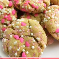 Valentine's Day Peanut Butter Cookies from 5DollarDinners.com