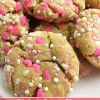 Valentine's Day Peanut Butter Cookies from 5DollarDinners.com