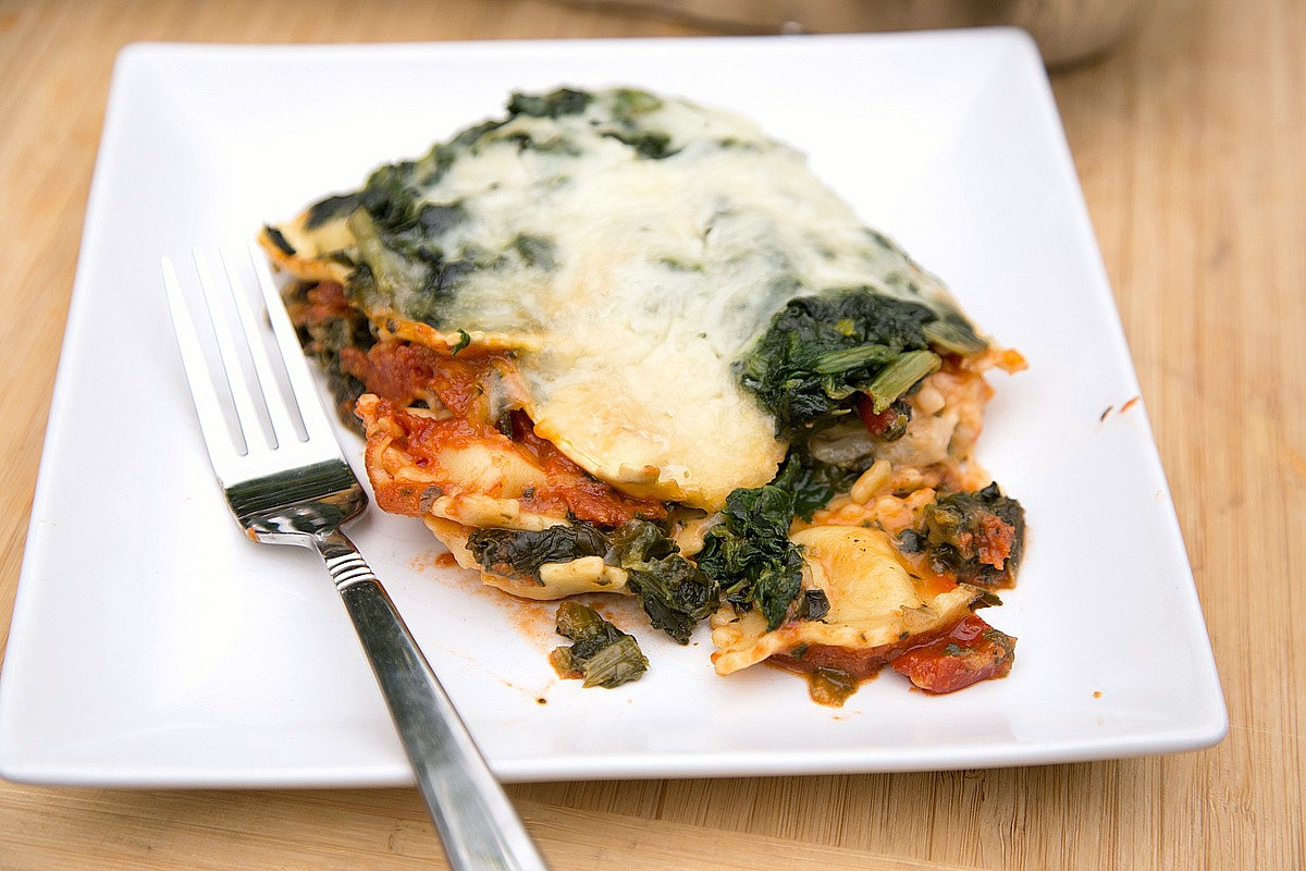 Spinach Ravioli Lasagna from 5DollarDinners.com