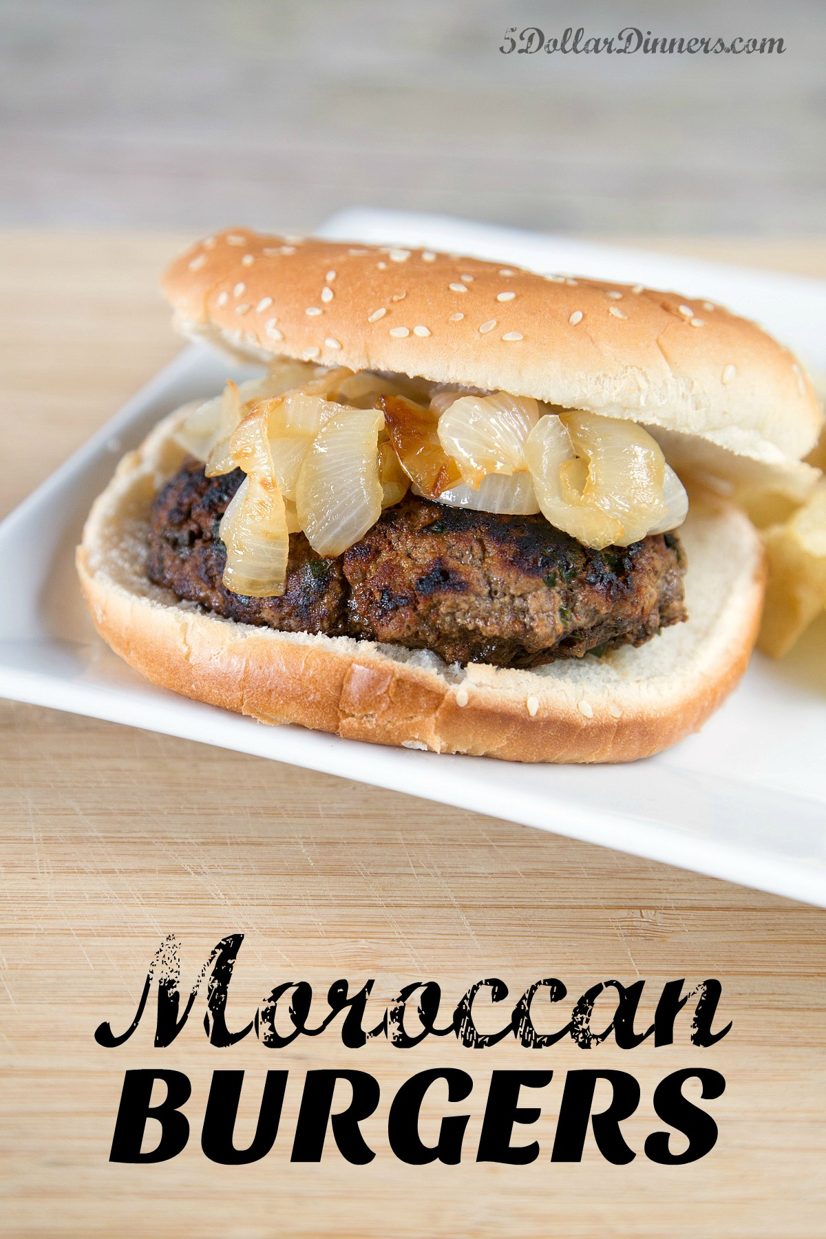 moroccan burgers