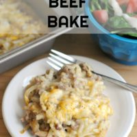 Hashbrown Beef Bake