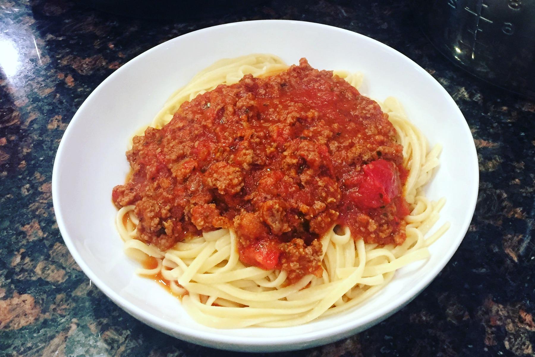 Instant Pot Classic Spaghetti Sauce