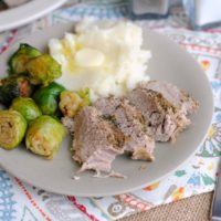 Slow Cooker Garlic-Orange Pork Tenderloin Recipe from 5DollarDinners.com
