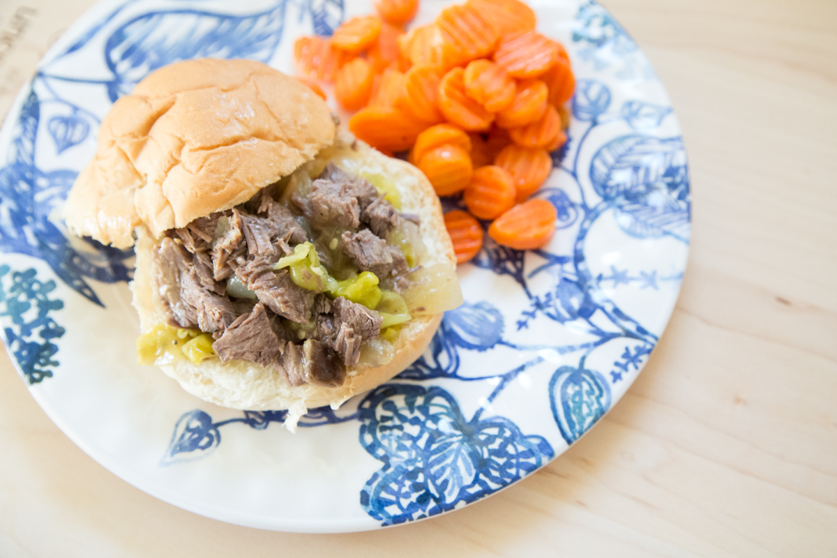 Best Italian Beef Shredded Sandwiches