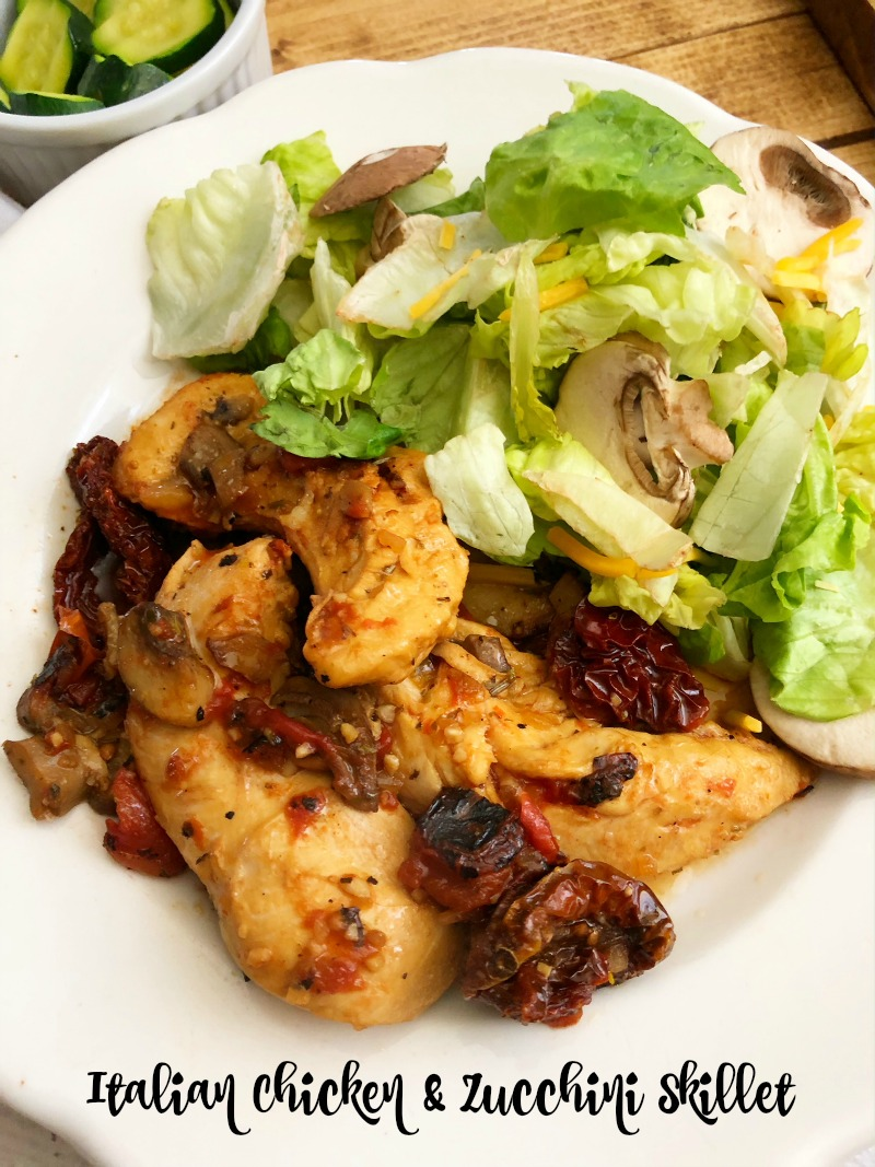 Italian Chicken & Zucchini Skillet