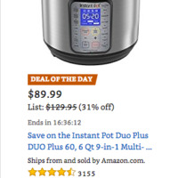 Best Price on Instant Pot!