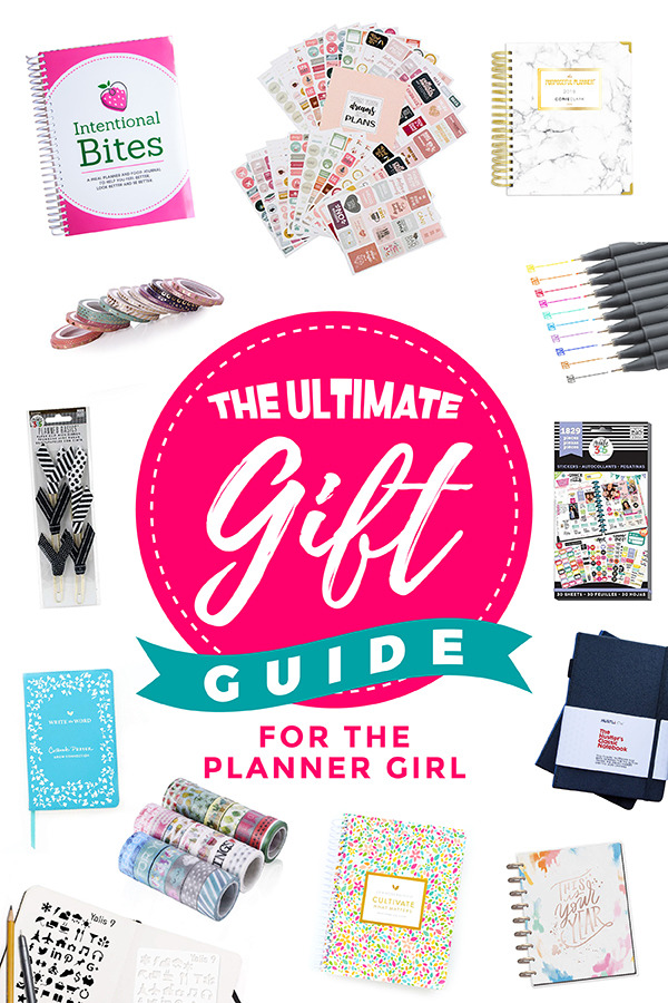 Best Gifts for Paper Planner Girl and Planner Lovers