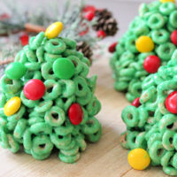 Cheerios Christmas Trees Recipe from 5DollarDinners.com