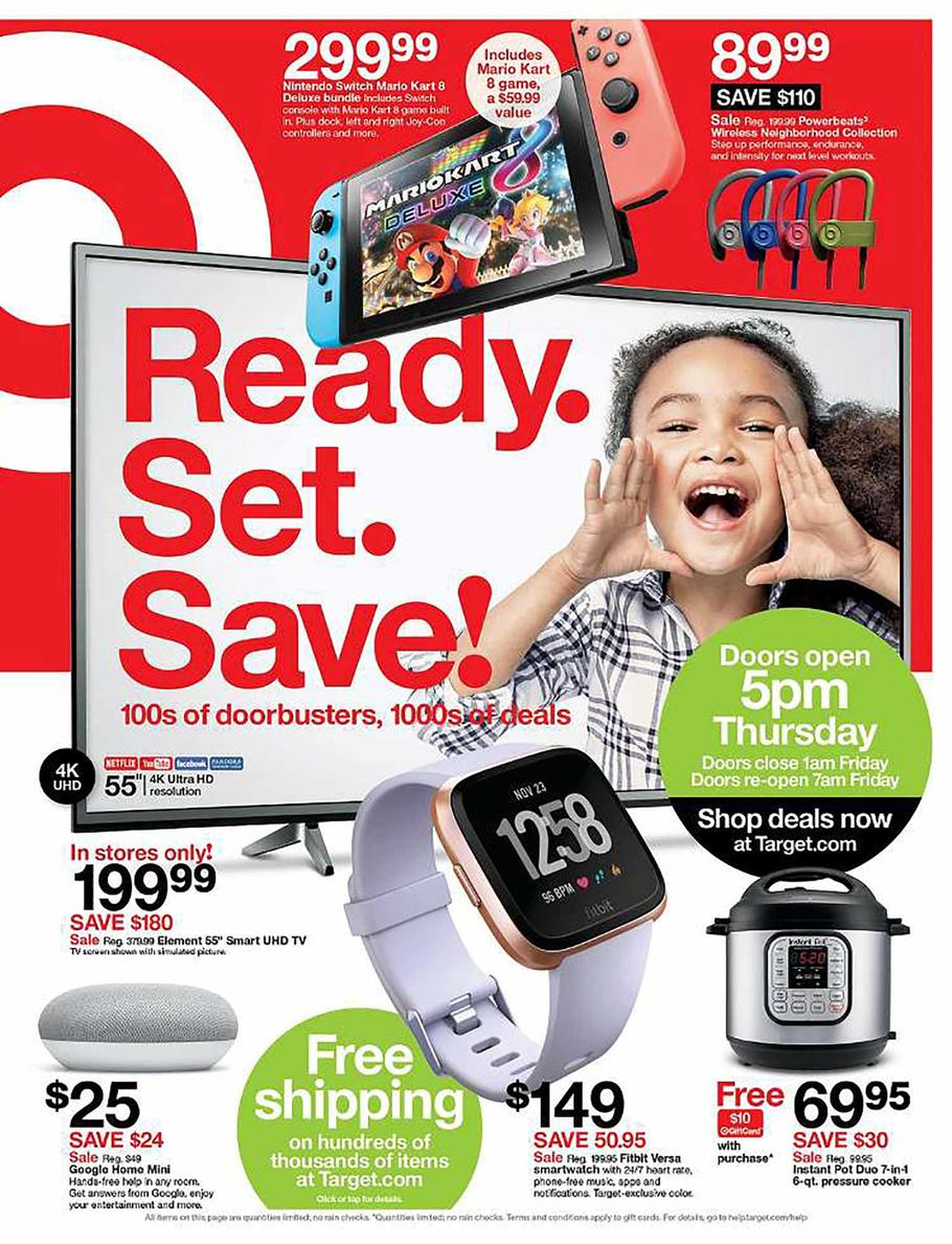 Target 2018 Black Friday Deals 5 Dinners Recipes Meal Plans Coupons