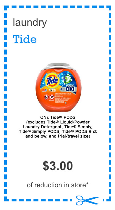 PRINT NOW: $3 Off Tide PODS Coupon!!!!!