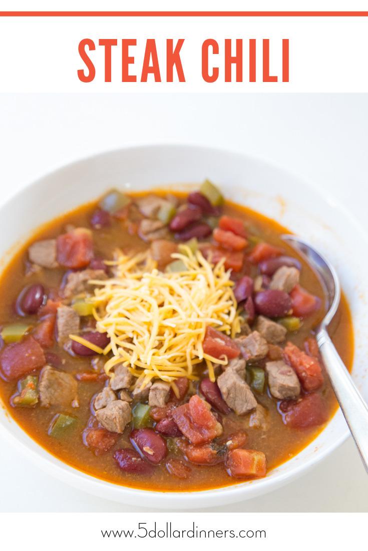Steak Chili Recipe
