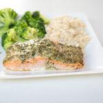 Delicious Pesto Salmon Recipe