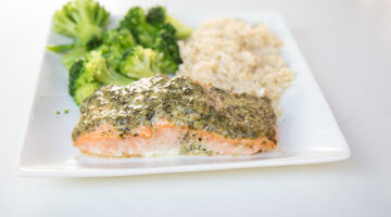 Delicious Pesto Salmon Recipe