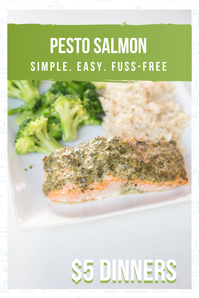 Quick and Easy Pesto Salmon Recipe