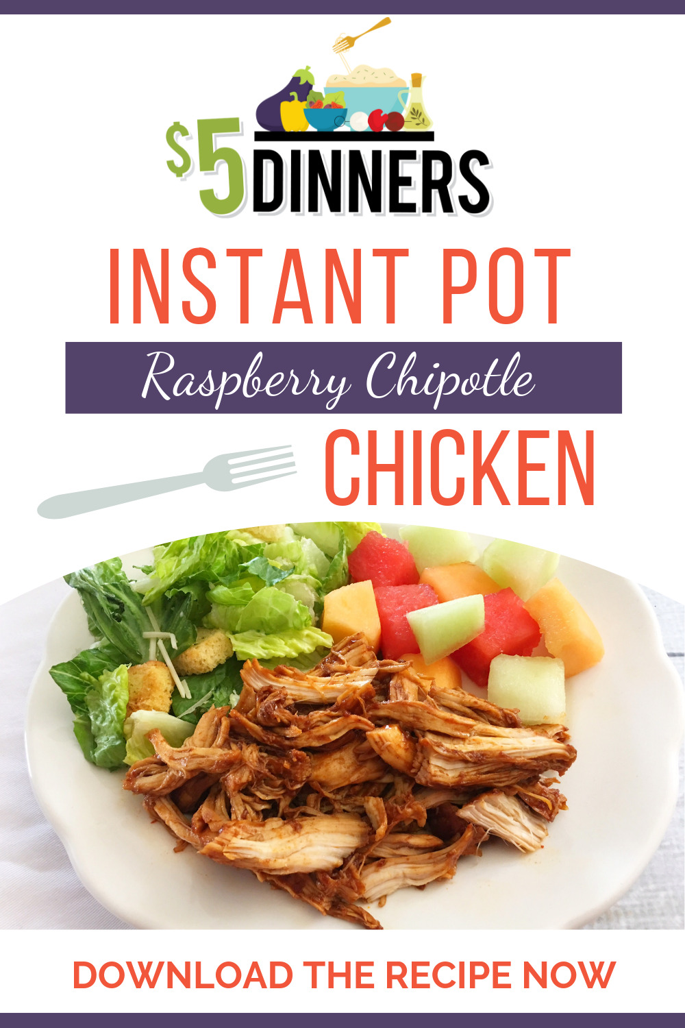 instant pot raspberry chipotle chicken