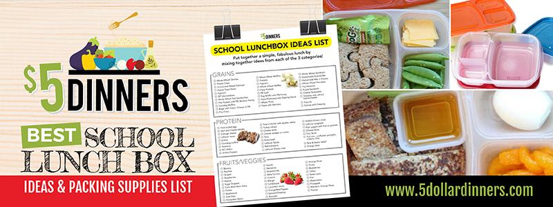 $5 Dinner Best School Lunchbox