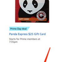 Prime Day 2019: Save on Restaurant Gift Cards