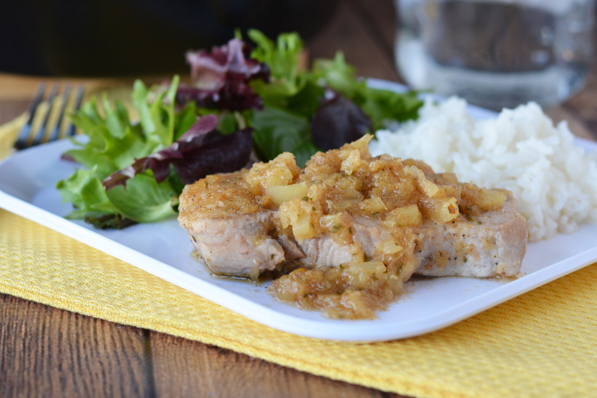 instant pot jamaican pork chops