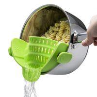 Kitchen Gizmo Snap 'N Strain Strainer – $11.99