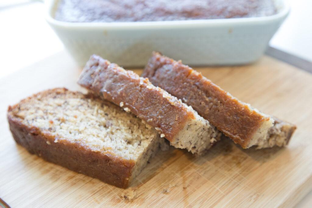 best banana bread recipe with caramel glaze