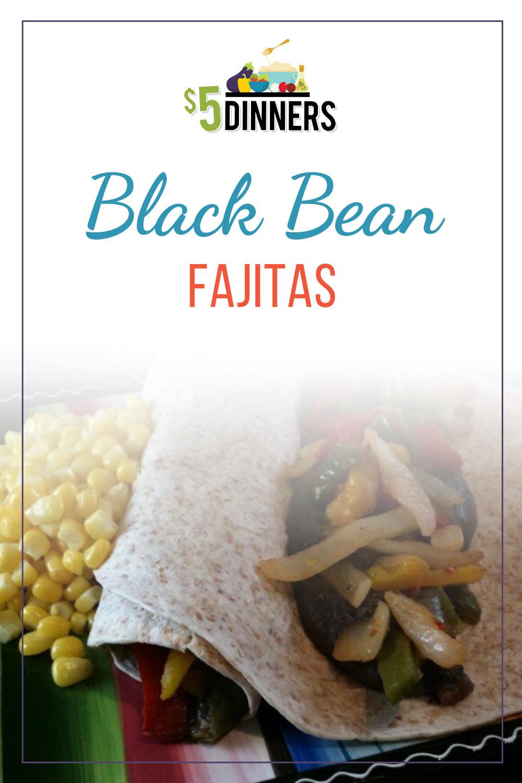 black bean fajita recipe