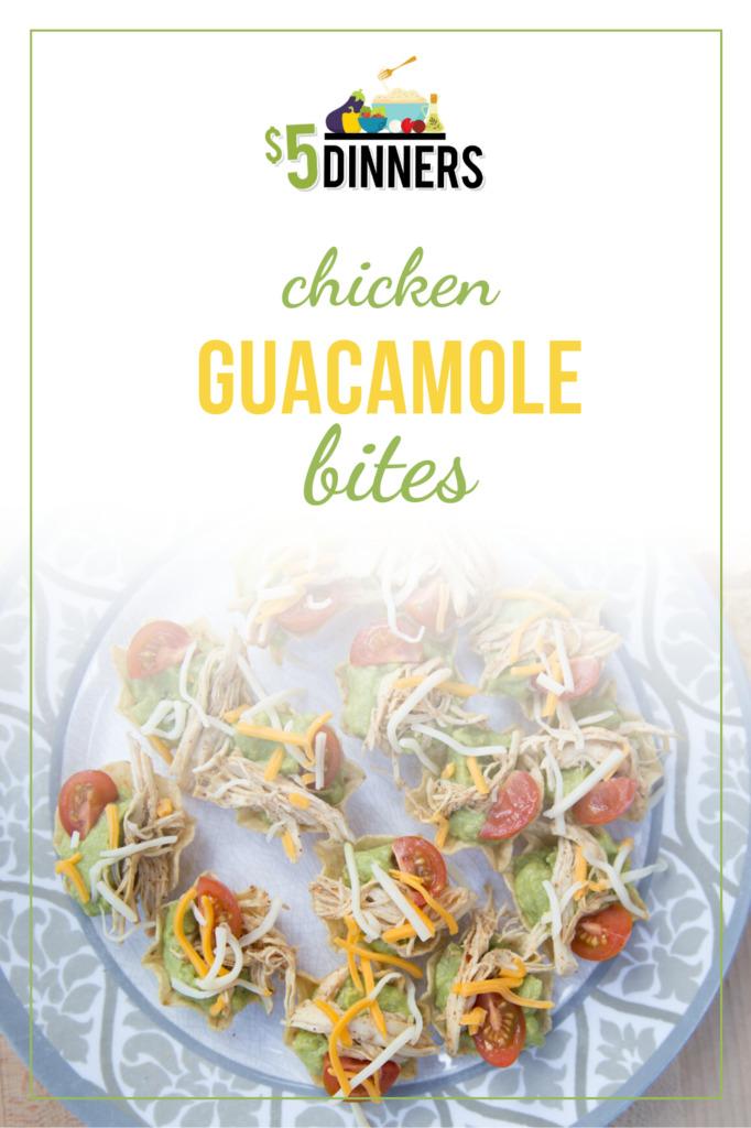 Chicken Guacamole Bites Recipe