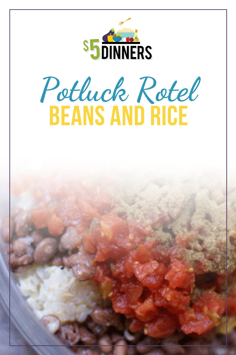 rotel beans and rice