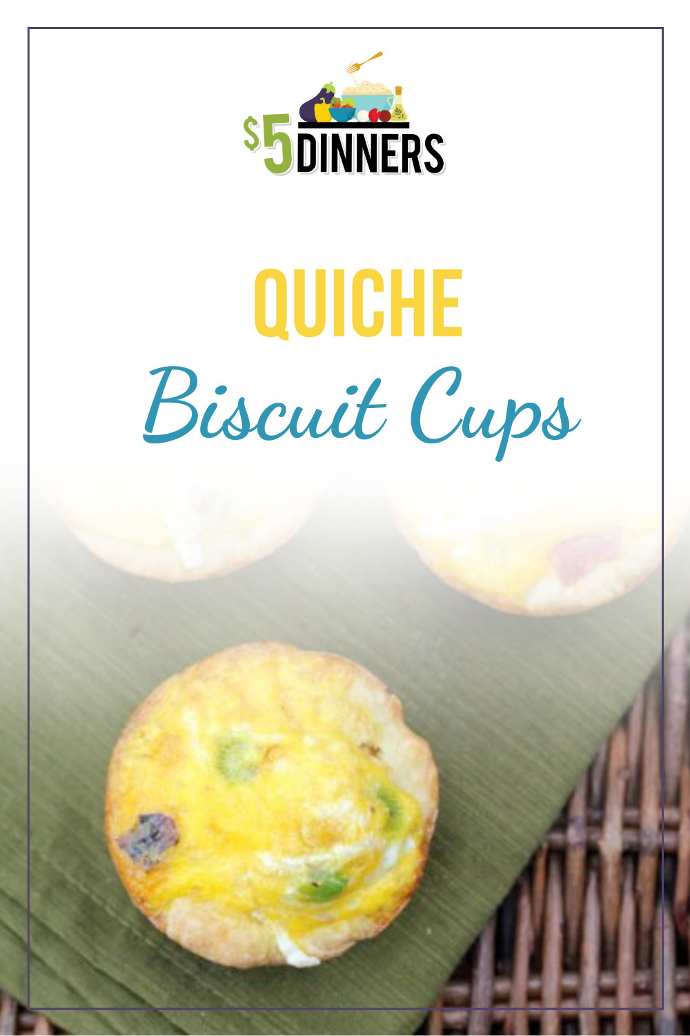 quiche biscuit cups