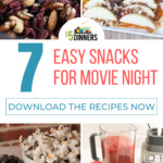 easy snacks for movie night