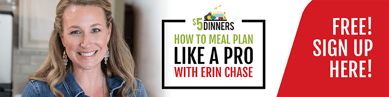 how to meal plan like a pro with Erin Chase