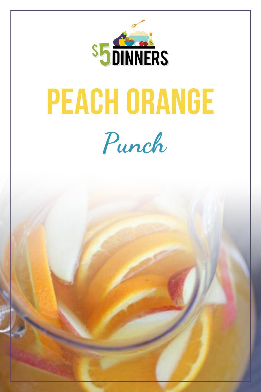 peach orange punch