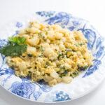 poblano breakfast scramble