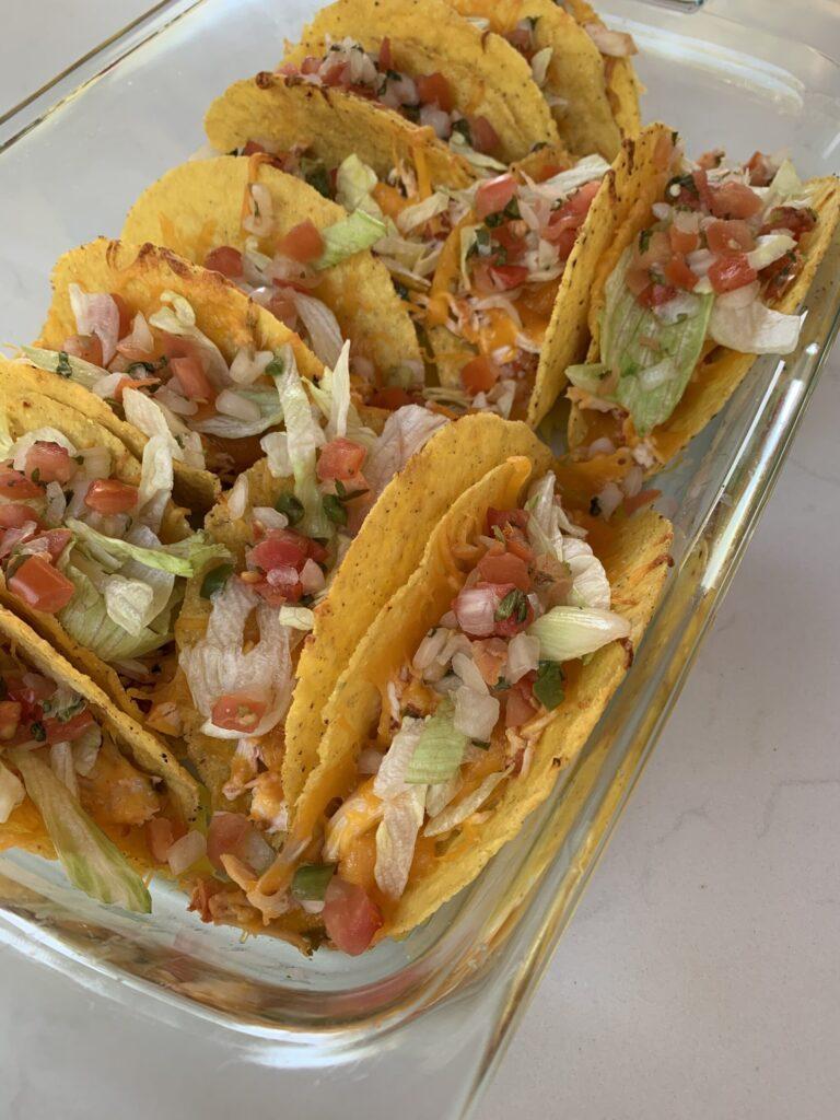 rotisserie chicken oven tacos