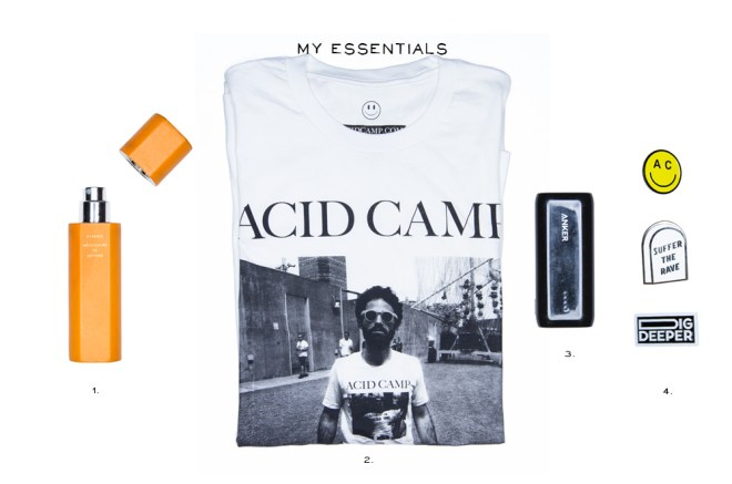 Essentials Aaron Davis Acid Camp 5elect5