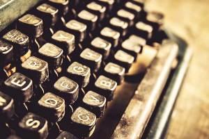 Typewriter, writing, challenge