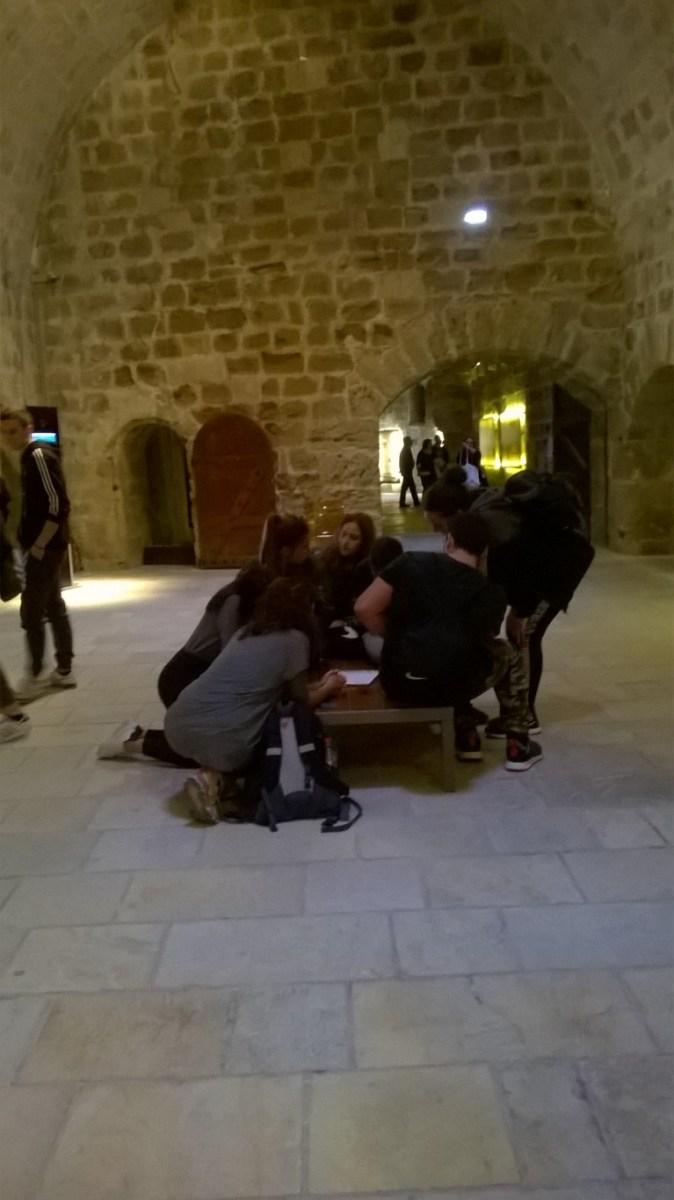 Εκπαιδευτική επίσκεψη του τμήματος Α6  στο ιστορικό κέντρο του Ηρακλείου