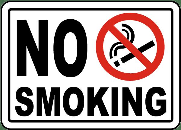 Απαγόρευση καπνίσματος - εφαρμογή της Αντικαπνιστικής Νομοθεσίας