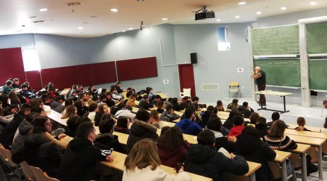 Eπίσκεψη μαθητών/τριών του Σχολείου μας στο τμήμα Μαθηματικών και Εφαρμοσμένων Μαθηματικών
