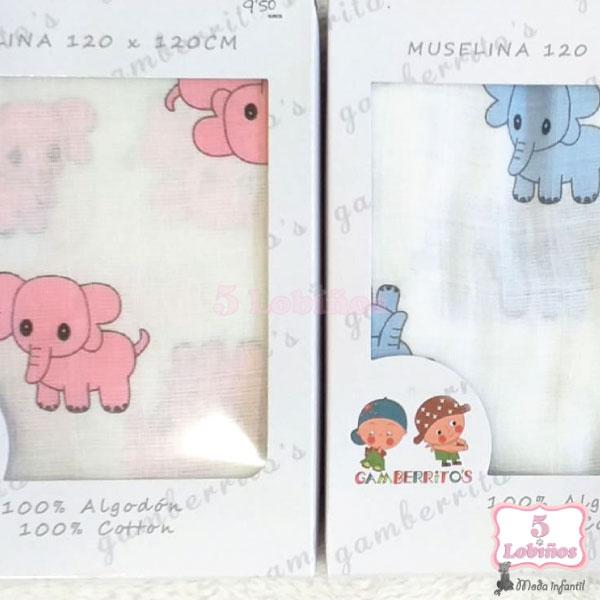 muselina elefantes 1