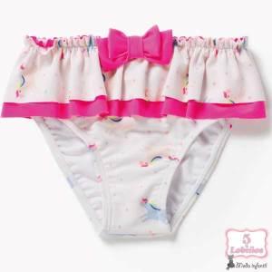 culetin bañador bebe niña unicornios zippy