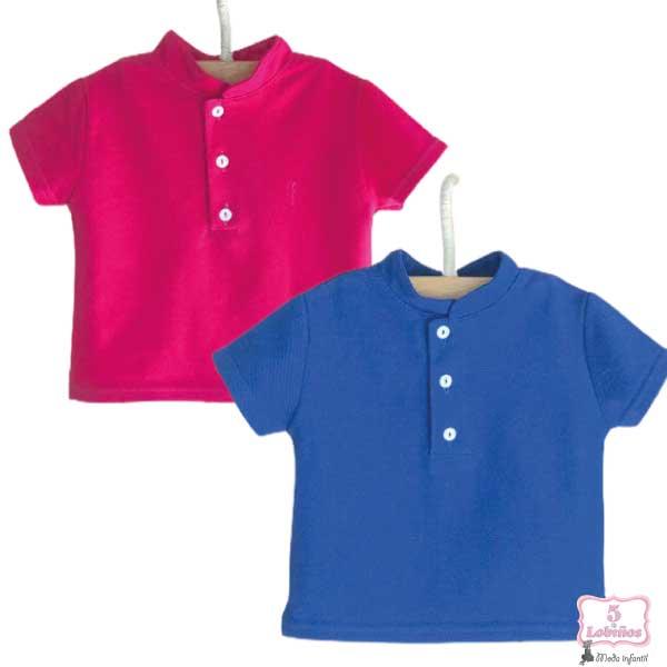 camisa bebe niño valentina bebes verano 2021