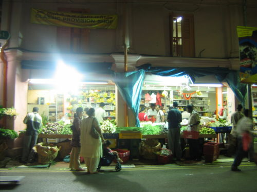Little India comes alive at night