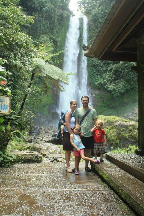 Bali family shot