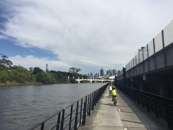 Yarra cycling