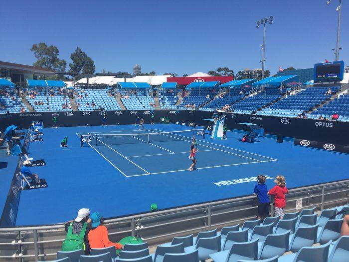 Australian Open with kids