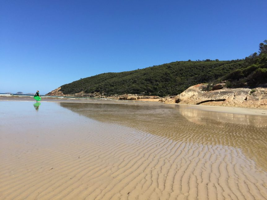 Normans Beach Wilsons Prom