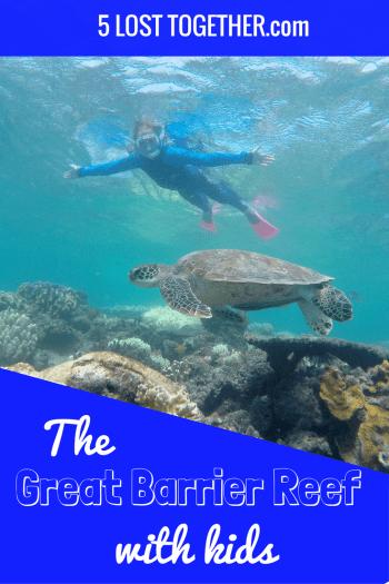Great Barrier Reef kids