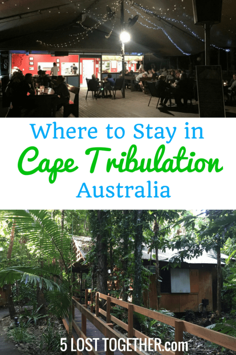 Where to stay in Cape Tribulation