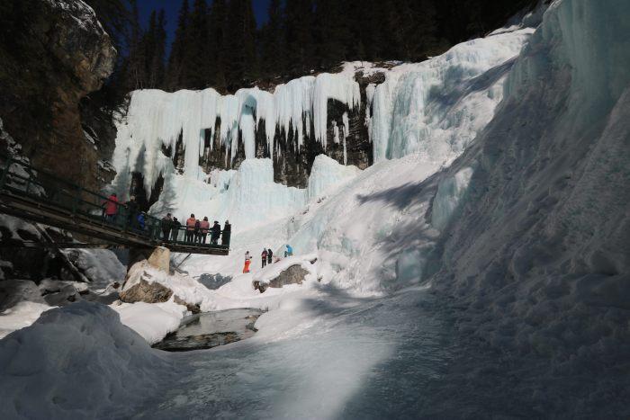 Johnson Canyon Banff