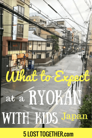 Should you stay at a Ryokan with kids in Japan?